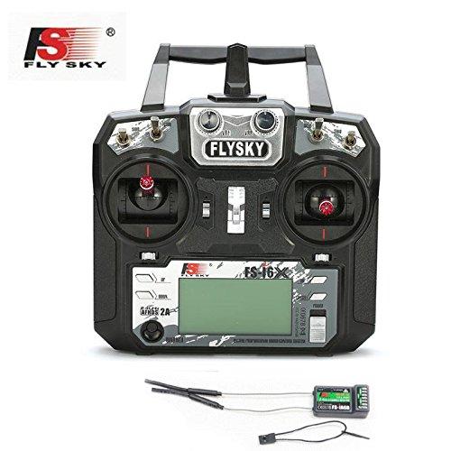 FlySky FS-i6 2 4G 6CH PPM RC Transmitter With FS-iA6B Receiver