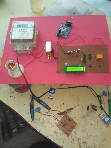 GSM Based Prepaid Energy Meter - Arduino projects,IOT,School