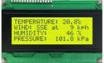 LCD display 20X4 green