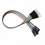 Male To Female  Jumper Wires For Arduino /Breadboard (10 nos)